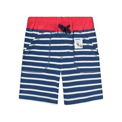 Frugi Stribede Shorts Marine Blue Breton 7-8 years - Børnetøj - Frugi