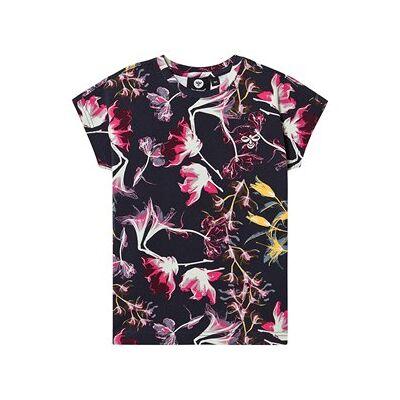 Hummel Lova T-Shirt Black Iris 128 cm (7-8 år) - Børnetøj - Hummel
