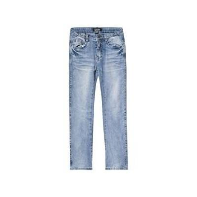 Molo Alonso Jeans Aske Blå 110 cm (4-5 år) - Børnetøj - Molo