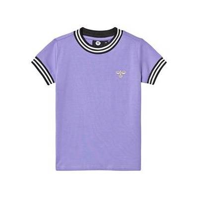 Hummel Victoria T-shirt Aster Purple 122 cm (6-7 år) - Børnetøj - Hummel