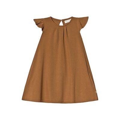 minimalisma Estelle Dress Fudge 4-5 år - Børnetøj - minimalisma