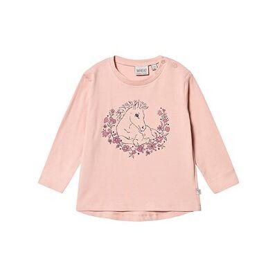 Wheat Foal Langærmet T-Shirt Misty Rose 92 cm (1,5-2 år) - Børnetøj - Wheat