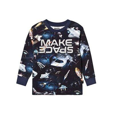 Molo Rai T-shirt Space Supper 104 cm (3-4 år) - Børnetøj - Molo