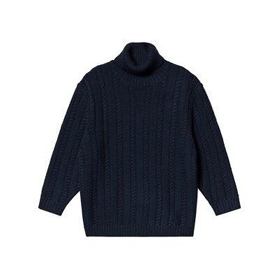 FUB Oversize Sweater Navy 100 cm (3-4 år) - Børnetøj - FUB