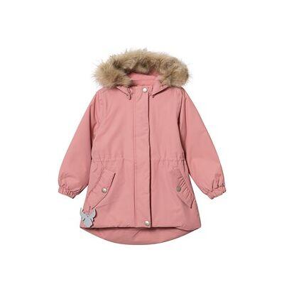 Wheat Mona Jacket Soft Peach Pink 74 cm (7-9 mdr) - Børnetøj - Wheat