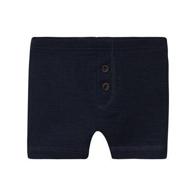 Wheat Wool Boxers Navy 116 cm (5-6 år) - Børnetøj - Wheat