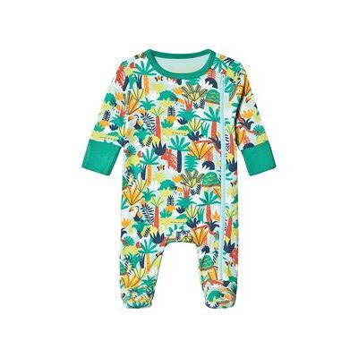 Frugi Sparkedragt Jungle Rumble med Lynlås 12-18 months - Børnetøj - Frugi