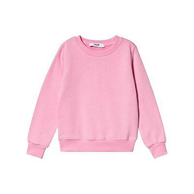 MSGM Branded Frynser Ærme Sweatshirt Pink 12 years - Børnetøj - MSGM