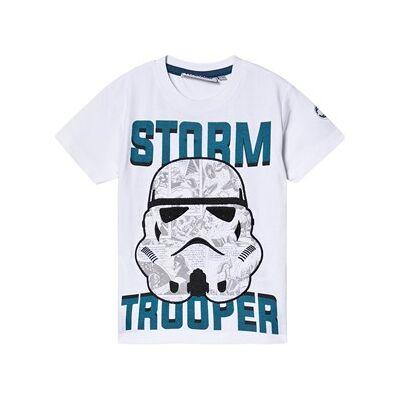 Fabric Flavours Star Wars Stormtrooper Comic T-shirt Hvid 7-8 years - Børnetøj - Fabric Flavours