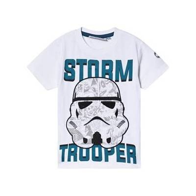 Fabric Flavours Star Wars Stormtrooper Comic T-shirt Hvid 7-8 years - Børnetøj - Fabric Flavours