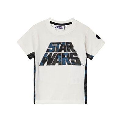 Fabric Flavours Star Wars Camo T-shirt Hvid 5-6 years - Børnetøj - Fabric Flavours