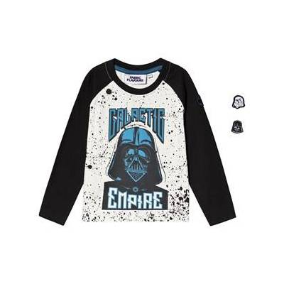 Fabric Flavours Star Wars Galactic Empire T-shirt Hvid & Navy 6-7 years - Børnetøj - Fabric Flavours
