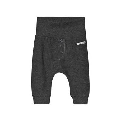 Hust&Claire; Gail Sweatpants Grey Blend 74 cm (6-9 mdr) - Børnetøj - Hust&Claire