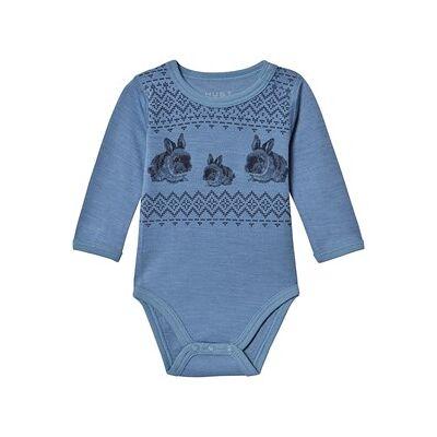 Hust&Claire; Baloo Baby Body Blue Glass 80 cm (9-12 mdr) - Børnetøj - Hust&Claire