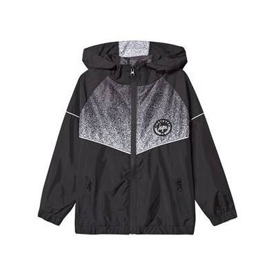 Hype Speckle Fade Track Top Sort 9-10 years - Børnetøj - Hype