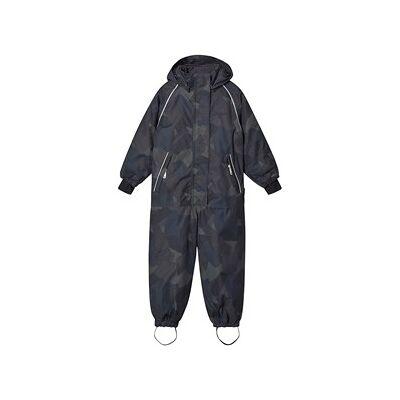 Hummel Travis Snowsuit Olive Night 122 cm (6-7 år) - Børnetøj - Hummel