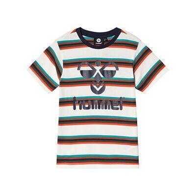 Hummel Preston T-Shirt Sort Iris 134 cm (8-9 år) - Børnetøj - Hummel