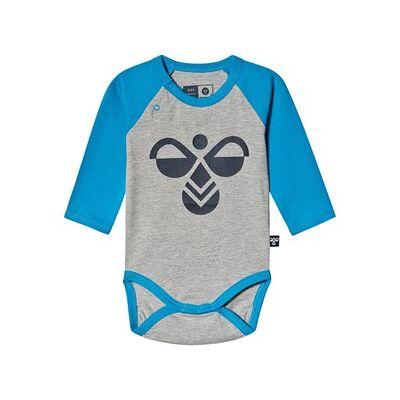 Hummel Spike Baby Body Diva Blå 86 cm (1-1,5 år) - Børnetøj - Hummel