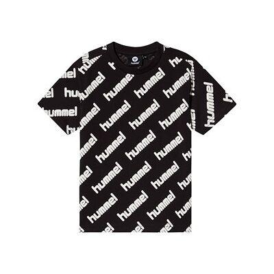 Hummel Keanu T-Shirt Sort 122 cm (6-7 år) - Børnetøj - Hummel