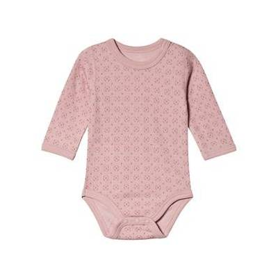Hust&Claire; Baloo Baby Body Dusty Rose 80 cm (9-12 mdr) - Børnetøj - Hust&Claire
