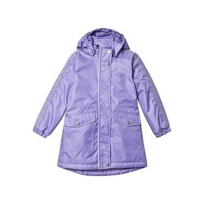 Hummel Jane Coat Aster Lilla 122 cm (6-7 år) - Børnetøj - Hummel