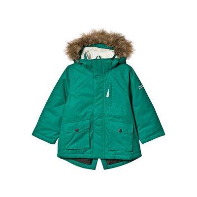 Muddy Puddles Explorer Parka Jacket Forest Green 7-8 years - Børnetøj - Muddy Puddles