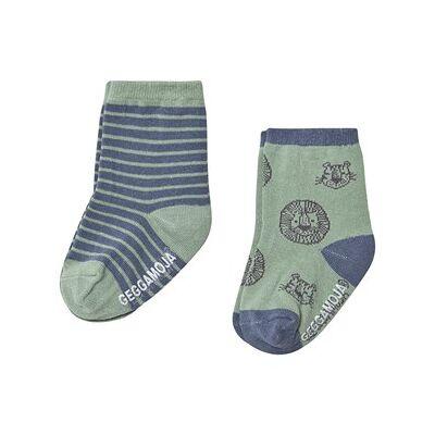 Geggamoja Anti-Slip Socks Tiger 16-18 (4-9 mdr) - Børnetøj - Geggamoja