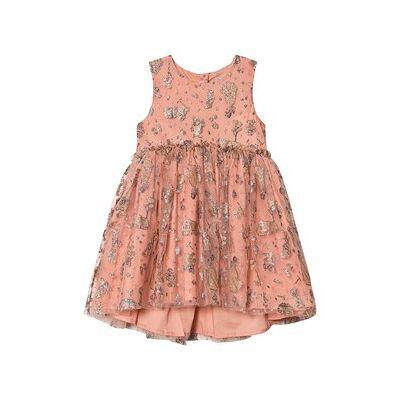 Wheat Dress Tulle Snow White Soft Rouge 104 cm (3-4 år) - Børnetøj - Wheat
