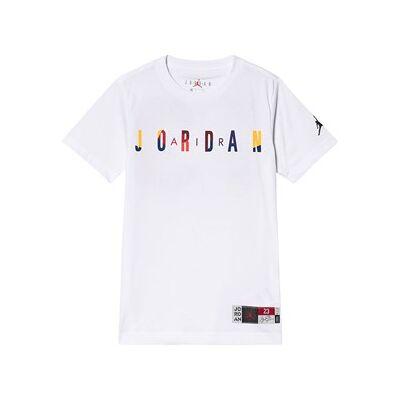 Air Jordan Rivals Logo T-Shirt White 5-6 years - Børnetøj - Air Jordan