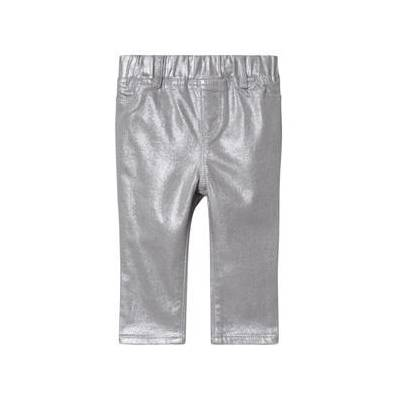 GAP Foil Jeggings Silver Grey 5 år - Børnetøj - GAP