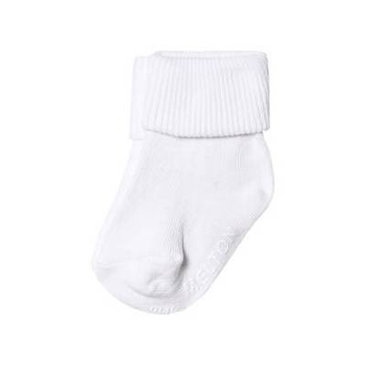 Melton Rib Strømper Hvid 20-22 - Børnetøj - Melton