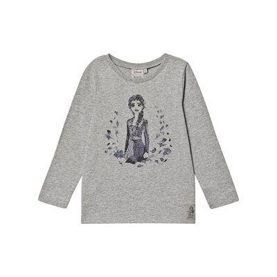 Wheat Elsa™ T-shirt med Lange ærmer Gråmeleret 116 cm (5-6 år) - Børnetøj - Wheat