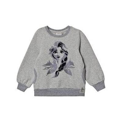 Wheat Elsa™ Sweatshirt Gråmeleret 116 cm (5-6 år) - Børnetøj - Wheat