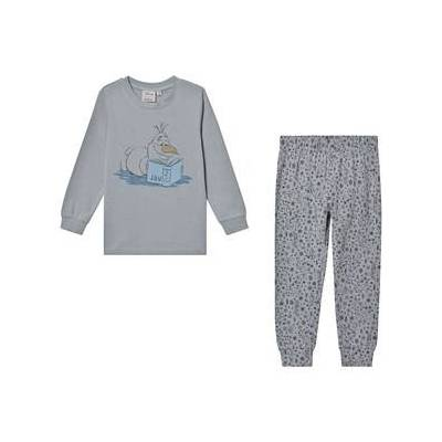 Wheat Olaf™ Pyjamas Dove 110 cm (4-5 år) - Børnetøj - Wheat