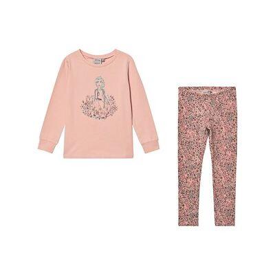 Wheat Frozen™ Pyjamas Misty Rose 110 cm (4-5 år) - Børnetøj - Wheat