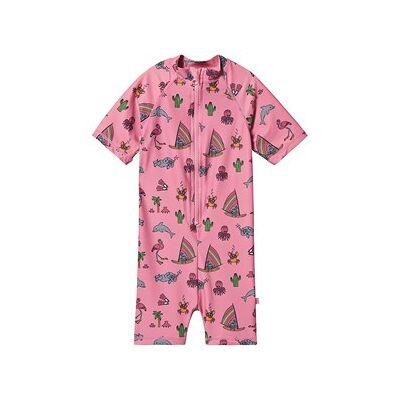 Småfolk UV Dragt UPF 50+ Sea World Print Pink 74 cm (9 months) - Børnetøj - Småfolk