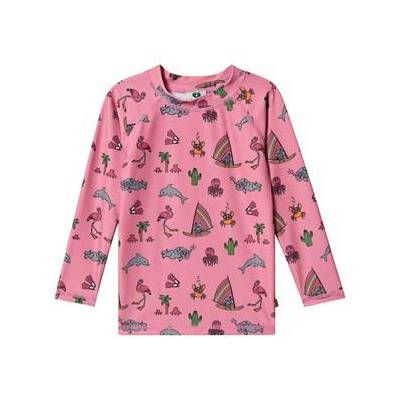 Småfolk UV Langærmet T-shirt UPF 50+ Pink 3-4 år - Børnetøj - Småfolk