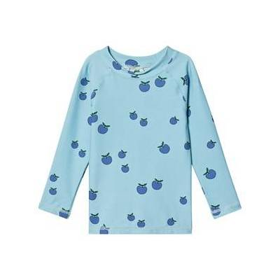 Småfolk Apple UV50 T-Shirt Air Blå 1-2 år - Børnetøj - Småfolk