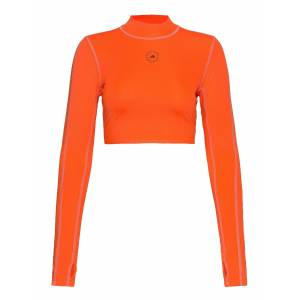adidas by Stella McCartney Tp Crop P.Blue Crop Tops Orange Adidas By Stella McCartney