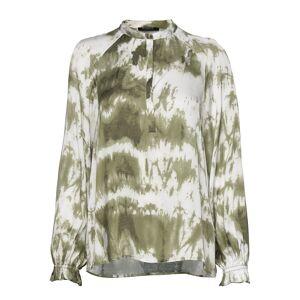 Bruuns Bazaar Fade Molina Shirt Bluse Langærmet Grøn Bruuns Bazaar
