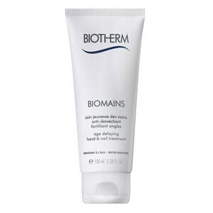 Biotherm Biomains Hand Cream 100ml Beauty WOMEN Skin Care Body Hand Cream & Foot Cream Nude Biotherm