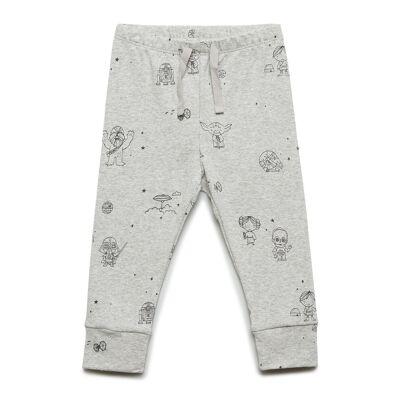 GAP Babygap   Star Wars™ Pull-On Pants  Bukser Grå GAP - Børnetøj - GAP