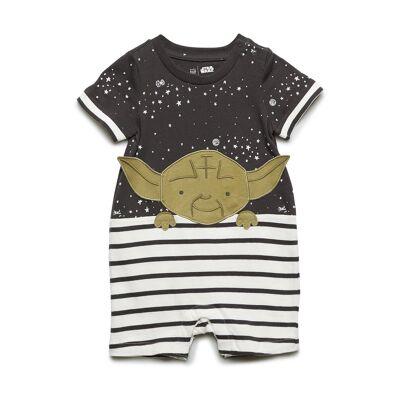 GAP Babygap   Star Wars™ Yoda Shorty -Piece Bodysuits Short-sleeved Multi/mønstret GAP - Børnetøj - GAP