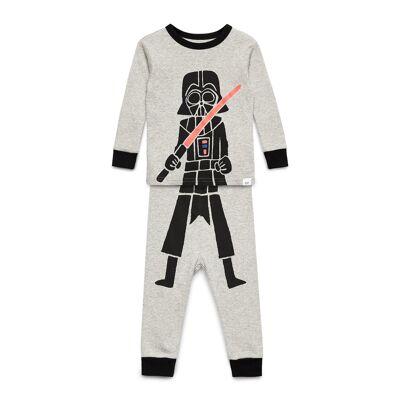 GAP Babygap   Star Wars™ Darth Vador Pj Set Pyjamassæt Grå GAP - Børnetøj - GAP