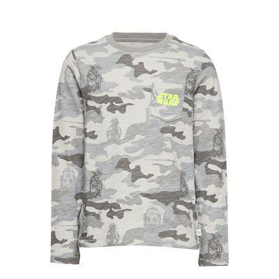 Gapkids   Star Wars™ T-Shirt Langærmet T-shirt Grå GAP - Børnetøj - GAP