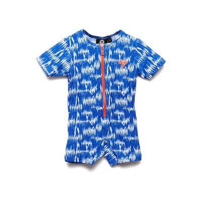 Hummel Hmldrew Swim Bodysuit Swimwear UV Clothing UV Suits Blå Hummel - Børnetøj - Hummel