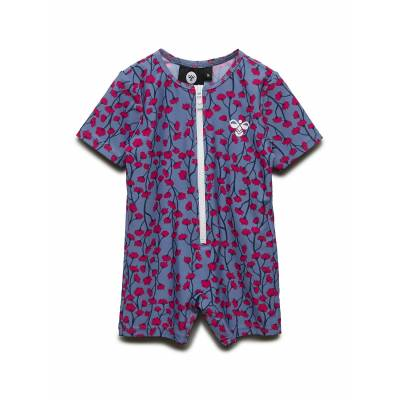 Hummel Hmlcalico Swim Bodysuit Swimwear UV Clothing UV Suits Lyserød Hummel - Børnetøj - Hummel