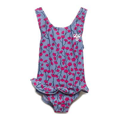 Hummel Hmlfilippa Swimsuit Badedragt Badetøj Lyserød Hummel - Børnetøj - Hummel
