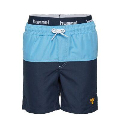 Hummel Hmlspot Board Shorts Badeshorts Blå Hummel - Børnetøj - Hummel