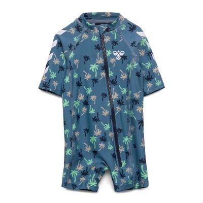 Hummel Hmlbeach Swimsuit Swimwear UV Clothing UV Suits Blå Hummel - Børnetøj - Hummel
